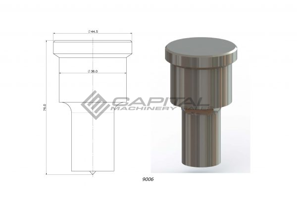 9006 round punch for kingsland iron worker 3
