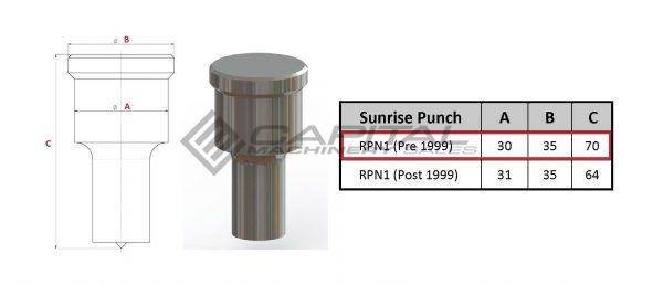 sunrise round punch pre 1999 models 3