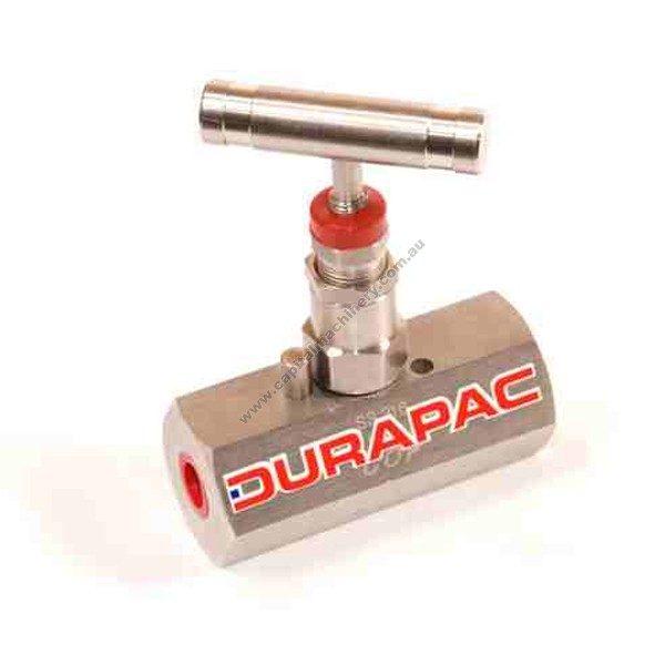 Durapac In Line Flow Control Valves