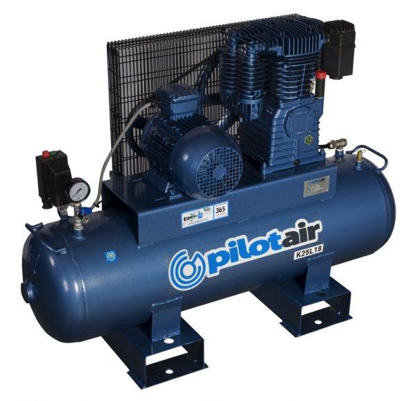 K25l18 Reciprocating Air Compressor – 415v Three Phase 2