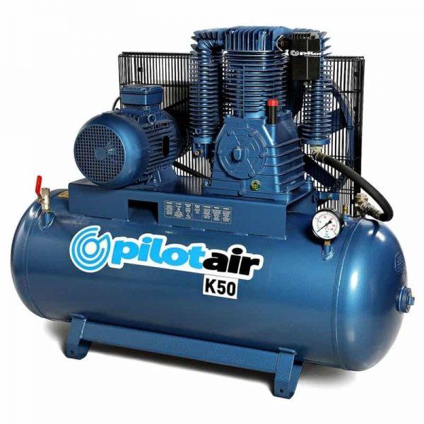 k50 reciprocating air compressor – 415v three phase