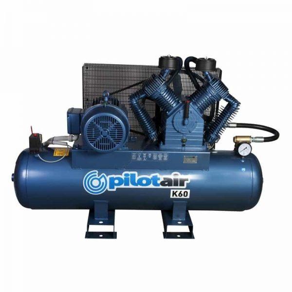 k60 reciprocating air compressor – 415v three phase