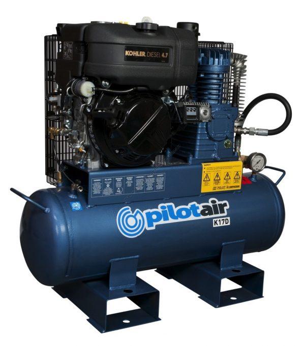 K17d Reciprocating Air Compressor Diesel Driven 3