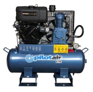 k17d reciprocating air compressor diesel driven