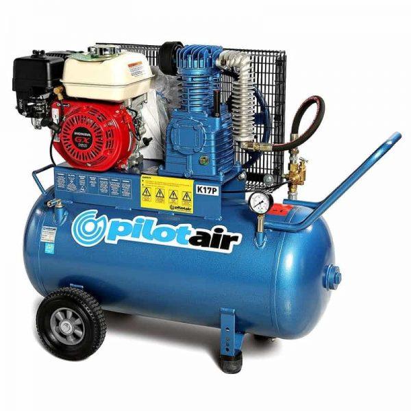 k17p reciprocating air compressor – petrol driven