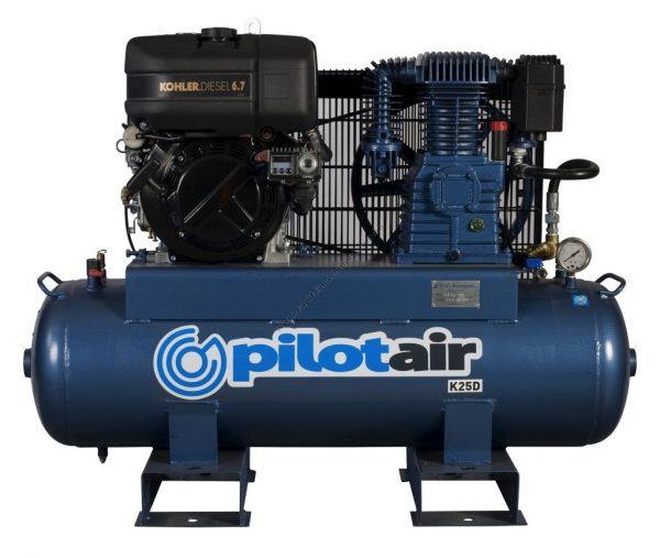 K25d Reciprocating Air Compressor Diesel Driven 2