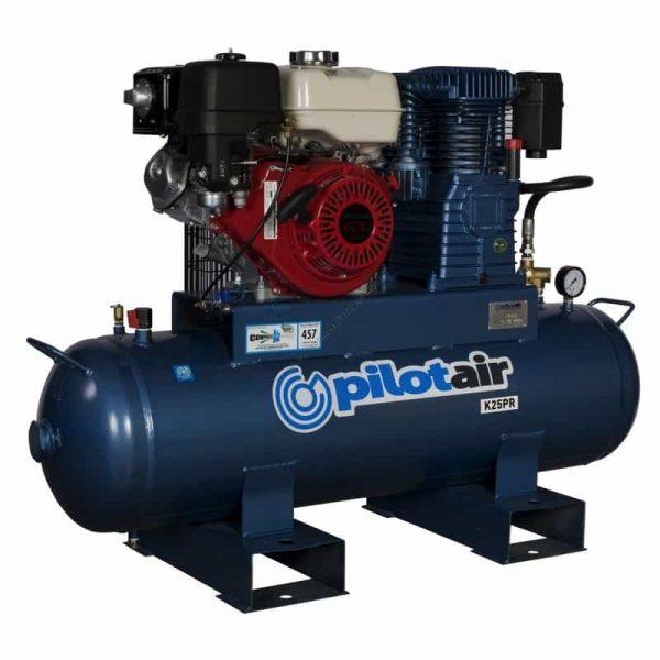 K25pr Reciprocating Air Compressor Petrol Driven