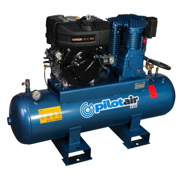 K30d Reciprocating Air Compressor Diesel Driven 2