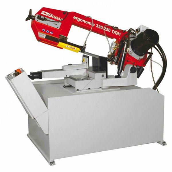 bomar 320.250 dgsh ergonomic mitre cutting bandsaw