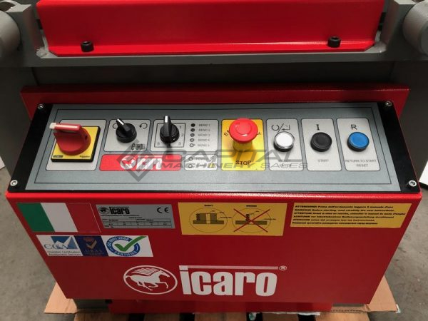 Icaro Cp38 45 Combined Rebar Cutter And Bender 002