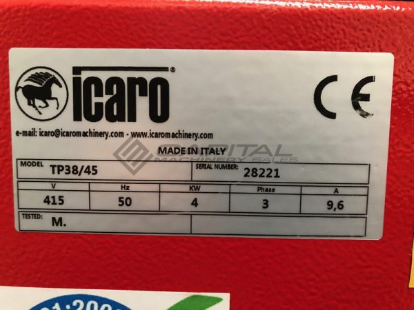 Icaro Cp38 45 Combined Rebar Cutter And Bender 003