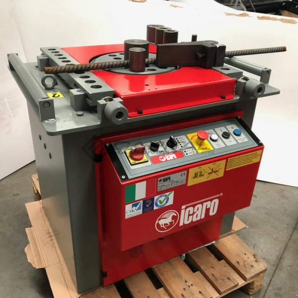 Icaro Cp38 45 Combined Rebar Cutter And Bender 008
