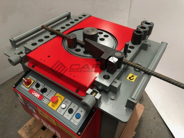Icaro Cp38 45 Combined Rebar Cutter And Bender 010