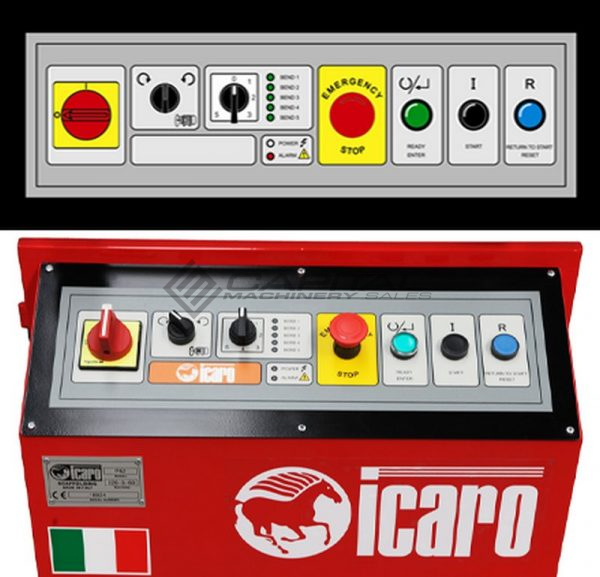 Icaro Cp2632 Combined Rebar Cutter And Bender 5