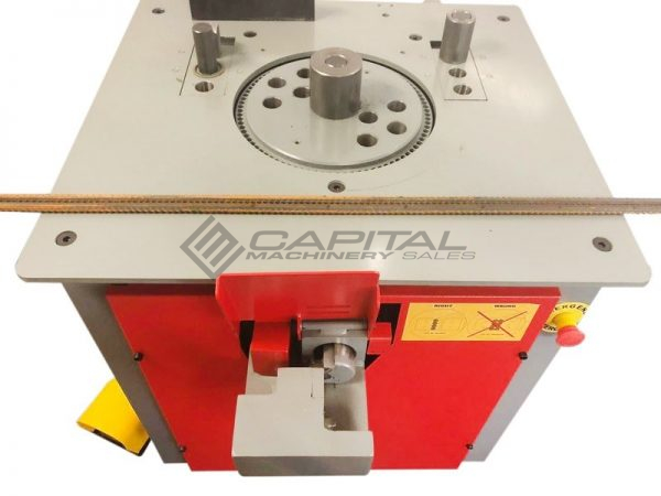Icaro Cp2632 Combined Rebar Cutter And Bender 6