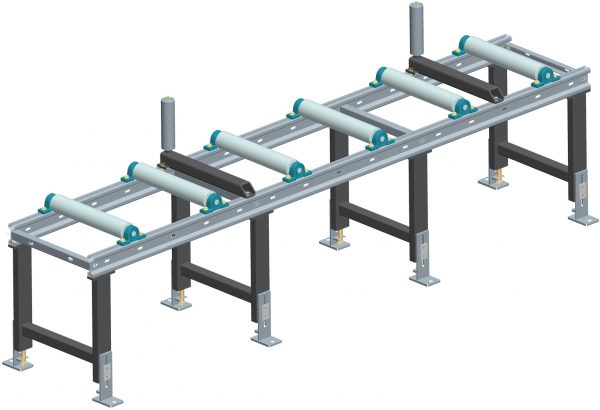 heavy duty conveyor length 3000 x width 450 with adjustable legs