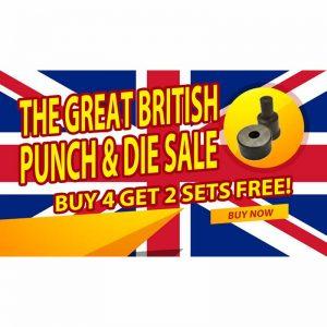 geka punch and die bundle buy 4 get 2 free great british punch and die sale