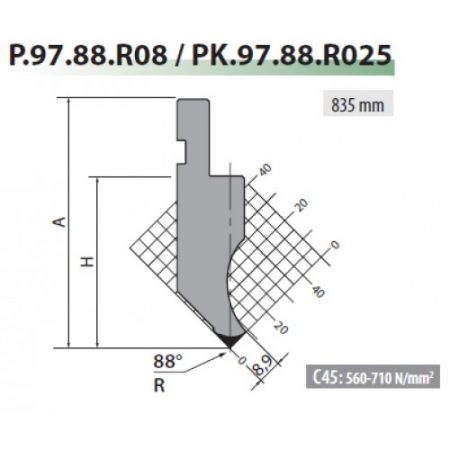 p97 88 r08 rolleri gooseneck top tool