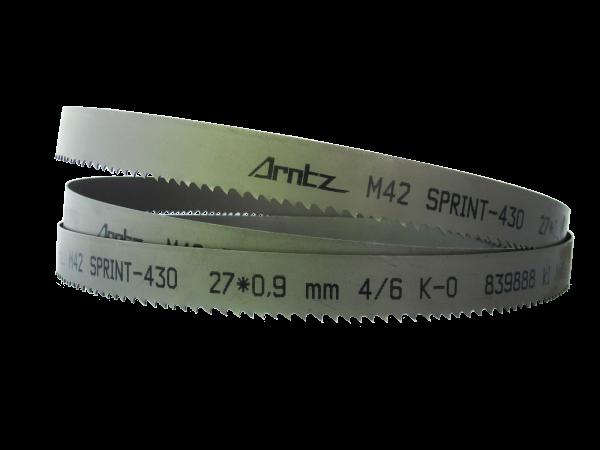 Bandsaw Blade For Bomar Model Transverse 410.260 Dgh Length 3800mm X Width 27mm X 0.9mm X Tpi 2