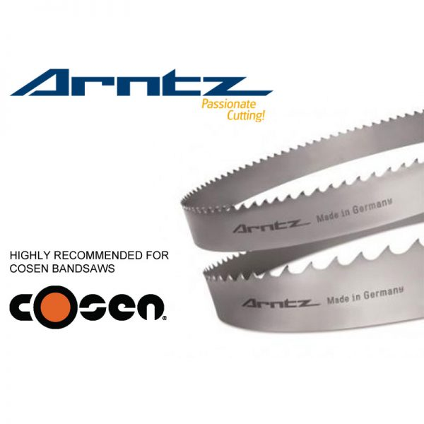 bandsaw blade for cosen model ah300nc length 4240mm x width 34mm x 1.1mm x tpi