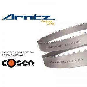 bandsaw blade for cosen model sh8580d length 8300mm x width 67mm x 1.6mm x tpi