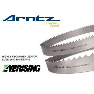 bandsaw blade for everising model s 300hbnc length 3820mm x width 34mm x 1.1mm x tpi