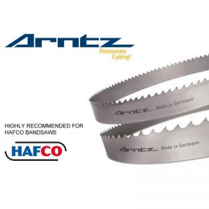 Bandsaw Blade For Hafco Model C 320nc Length 4240mm X Width 34mm X 1.1mm X Tpi