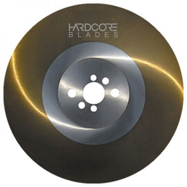 Hardcore Blade 315mm Ticn Coated High Speed Steel
