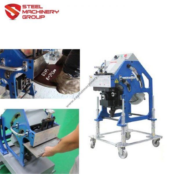 Smg 16d Gbm Heavy Duty Steel Plate Beveling Machine 3