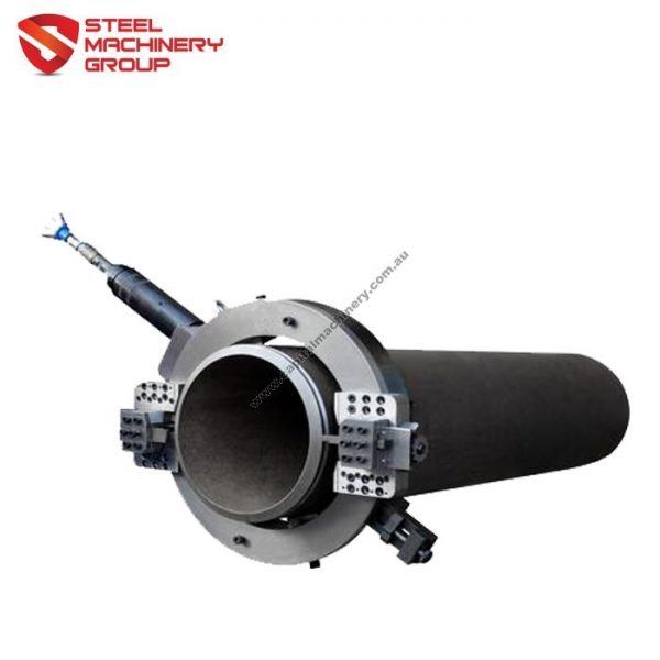 smg pneumatic pipe cold cutting and beveling machine