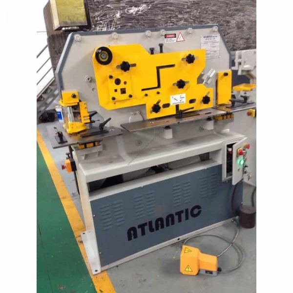 kingsland atlantic 60xa hydraulic ironworker