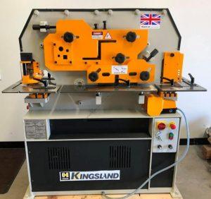 kingsland uk compact 50xa hydraulic ironworker