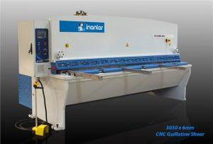 inanlar 3050 x 6mm cnc hydraulic guillotine shear