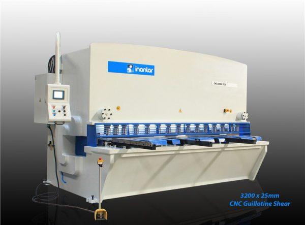 Inanlar 3200 X 25mm Cnc Hydraulic Guillotine Shear 2