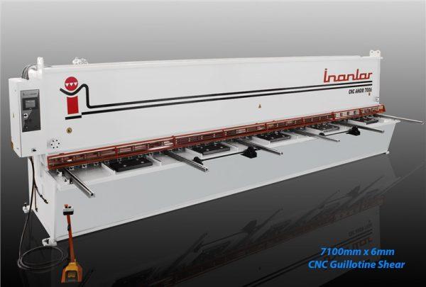 inanlar 7100x 6mm cnc hydraulic guillotine shear
