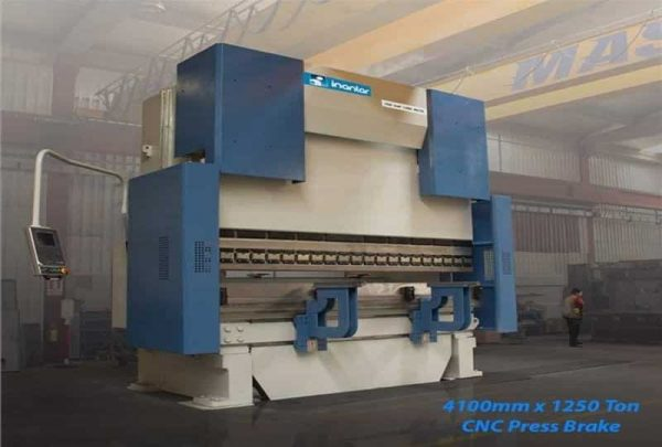 inanlar cnc hap 4050 x 1250 ton press brake