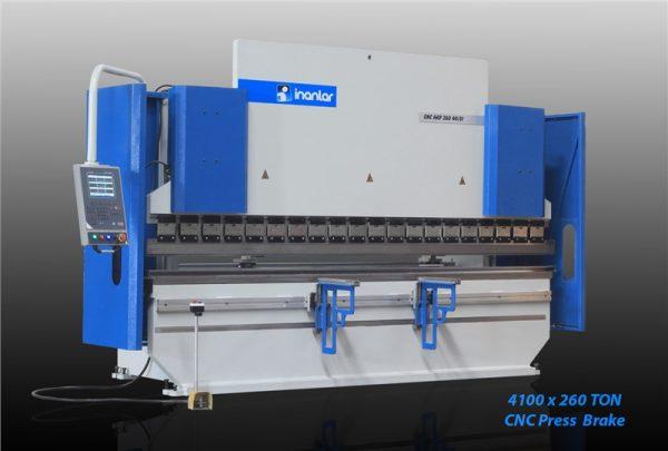 inanlar cnc hap 4050 x 260 ton hydraulic press brake