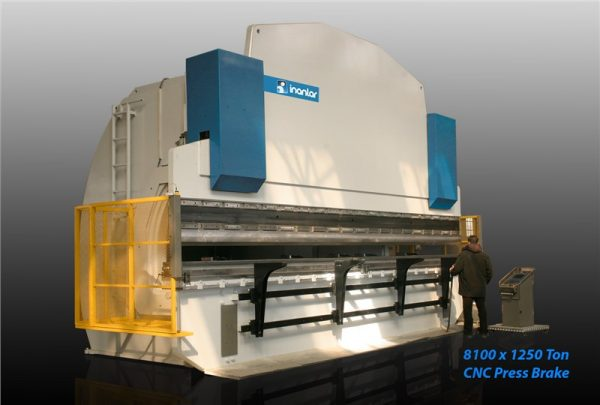 inanlar cnc hap 8000 x 1250 ton press brake