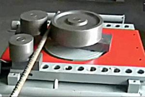 Extender Arm for large radius bending