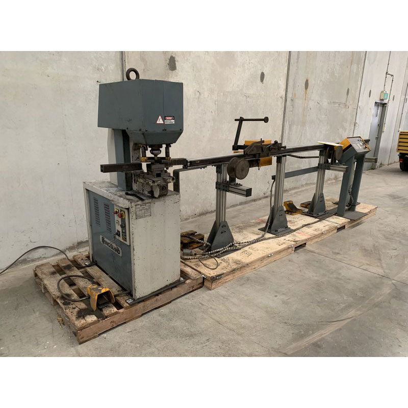 Kingsland Cnc Controlled Linear Rail Punching Machine 001