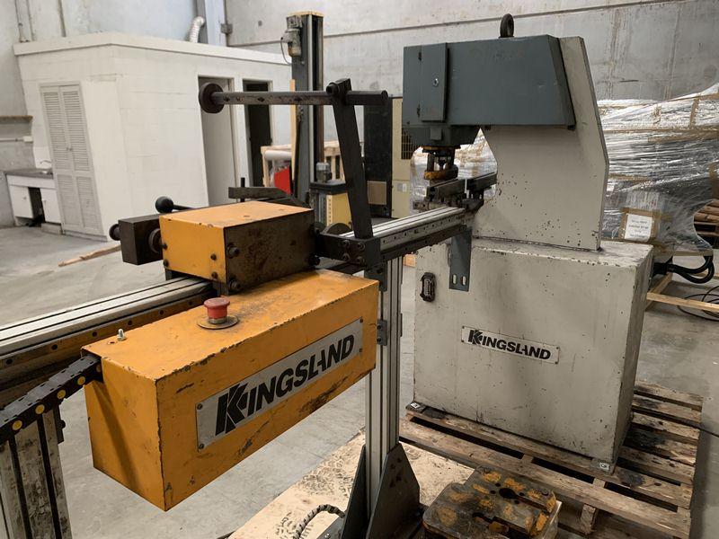 Kingsland Cnc Controlled Linear Rail Punching Machine 002