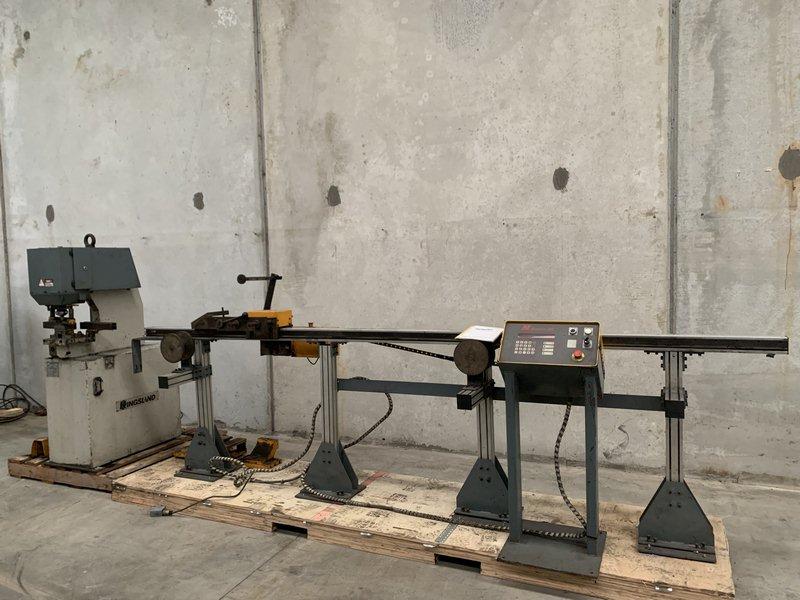 Kingsland Cnc Controlled Linear Rail Punching Machine 003