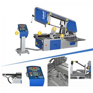 Psm 420 600 M Semi Automatic Miter Bandsaw Machine