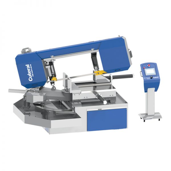 psm 440 610 dm nc semi automatic double miter bandsaw machine