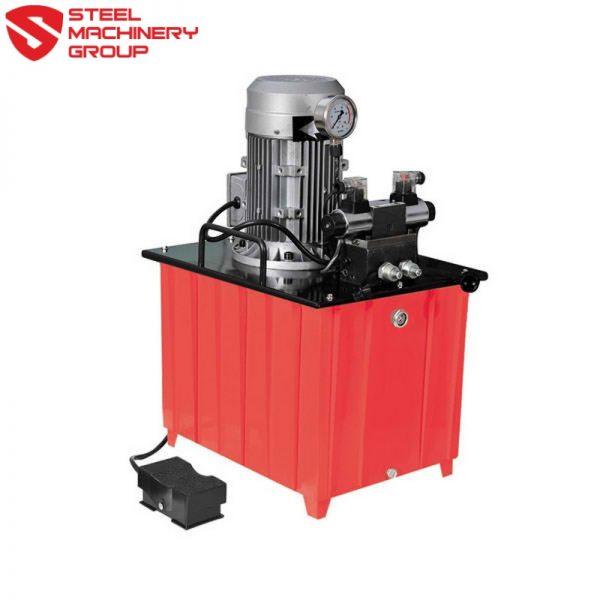 Smg 50 Ton Deep Reach Punch With Hydraulic Pump 3