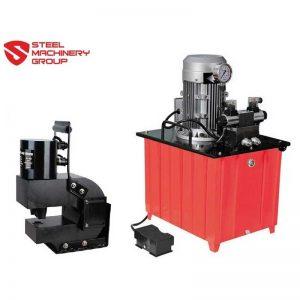 smg 50 ton deep reach punch with hydraulic pump
