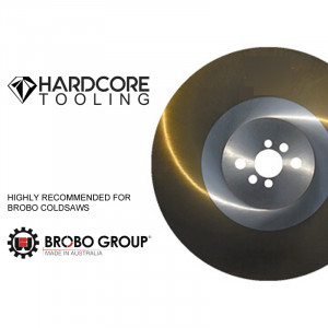 Brobo Cold Saw Ticn Coated Blades For Model Cold Saw S350d 350mm Diameter X 2 5mm Thickness X 32mm Bore