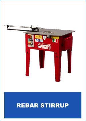 Icaro Machinery Brand Rebar Stirrup