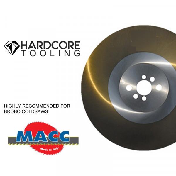 Macc Ticn Blades For Model Coldsaw New 250 Dv 1 250 Mm Diameter X 2mm Thickness X 32 Mm Bore