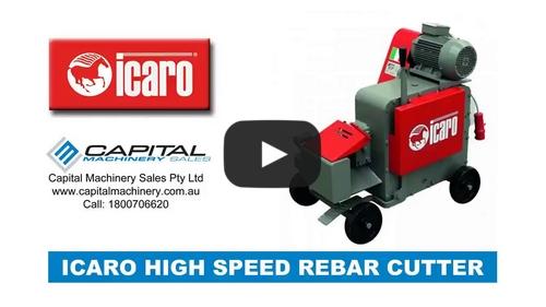 Rebar Cutter Machine High Speed ICARO Machinery